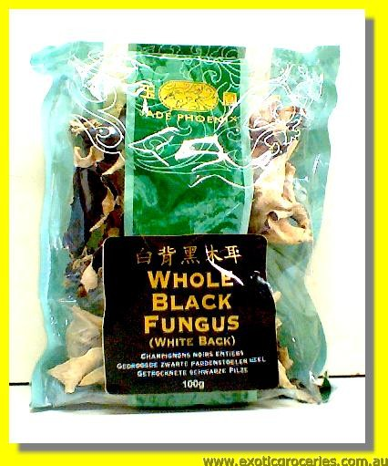 Whole Black Fungus