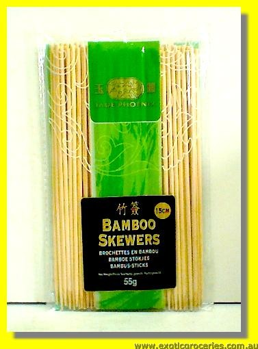 Bamboo Skewers 15cm (6inch)