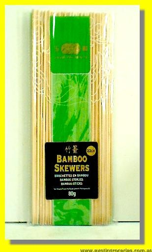 Bamboo Skewers 22cm (9inch)