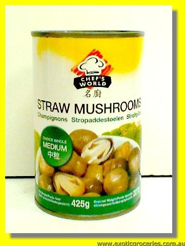 Straw Mushrooms (Medium)