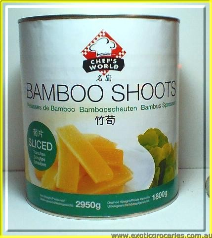 Bamboo Shoots Sliced