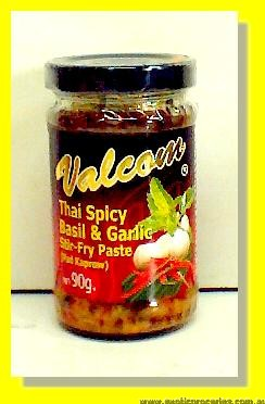 Thai Spicy Stir Fry Paste