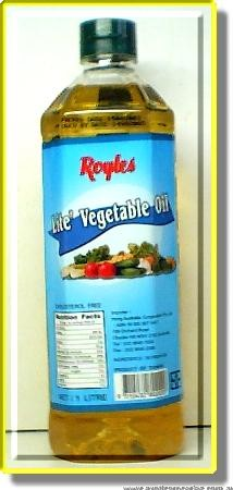 Lite Vegetable Oil