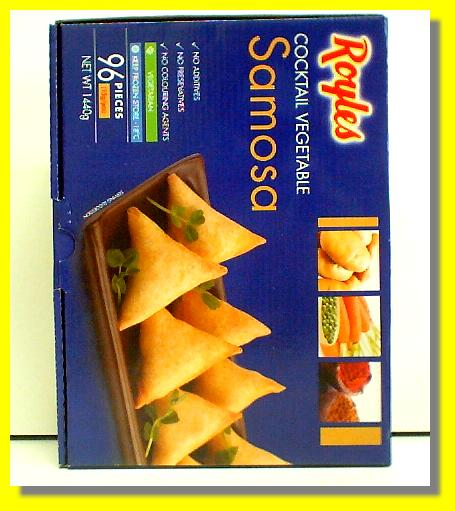 Cocktail Vegetable Samosa 96pcs