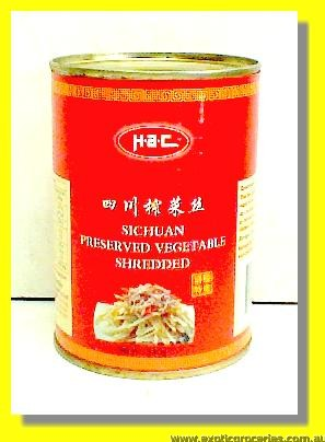 Sichuan Preserved Vegetable Shredded