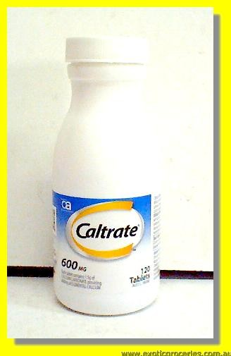 Caltrate 600mg 120tablets