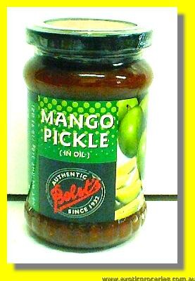 Mango Pickle In Oil ( Hot)