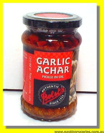 Garlic Achar (Pickle In Oil)