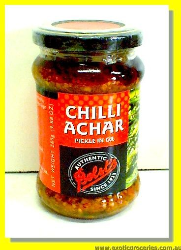 Chilli Achar (Pickle in Oil)