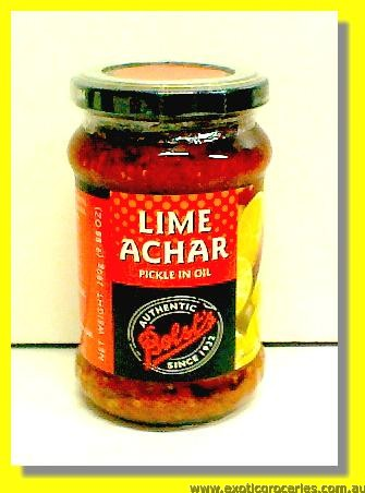 Lime Achar (Pickle in Oil)