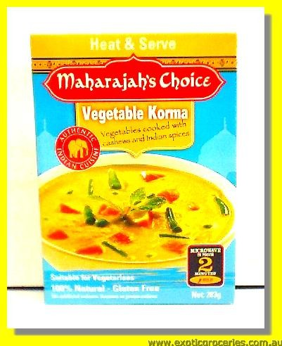Heat & Serve Vegetable Korma