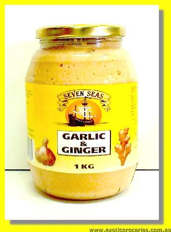 Minced Garlic & Ginger