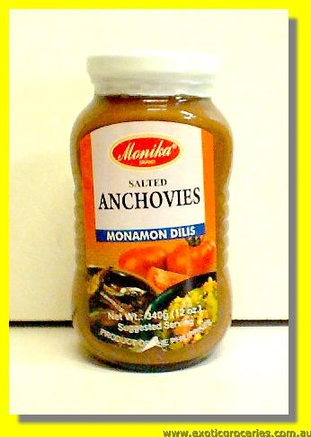 Salted Anchovies (Monamon Dilis)