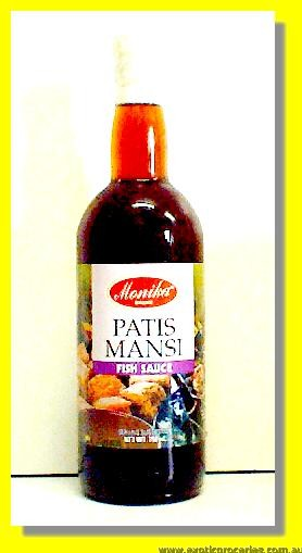 Patis Mansi Fish Sauce