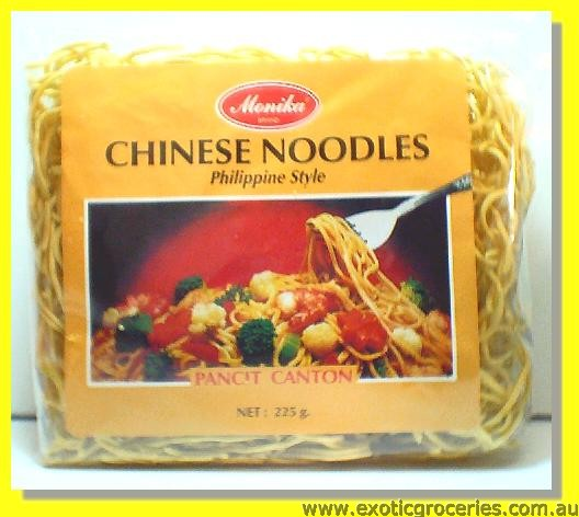 Chinese Noodles Philippine Style (Pancit Canton)