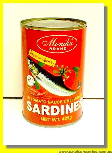 Red Sardines in Tomato Sauce Chilli Added