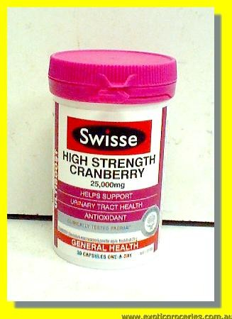High Strength Cranberry Capsules 30pcs