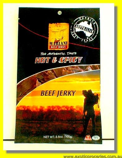 Beef Jerky Hot & Spicy