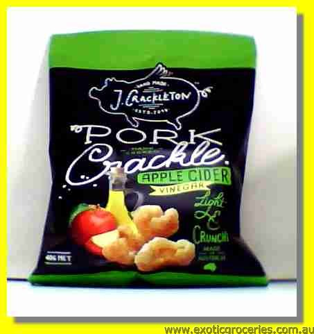 Pork Crackle Apple Cider Flavour