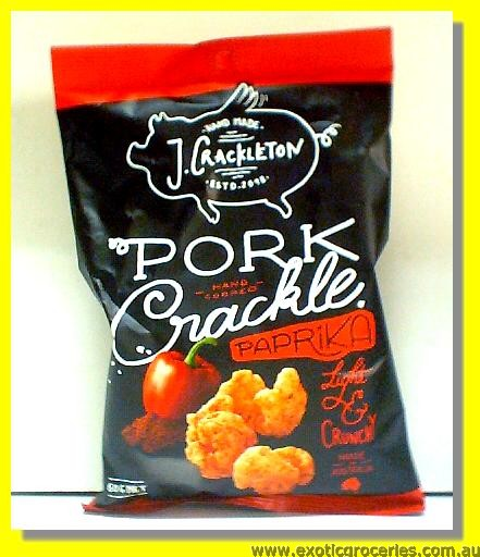 Pork Crackle Paprika Flavour