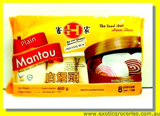 Plain Mantou 8pcs