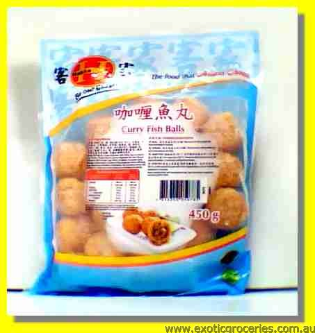 Frozen Curry Fish Balls
