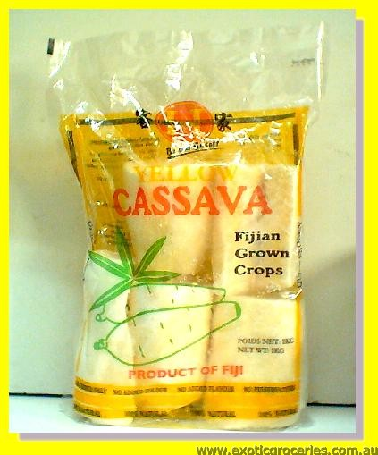 Frozen Yellow Cassava