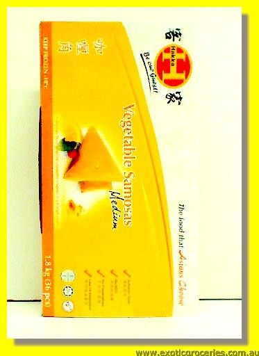 Frozen Vegetable Samosas Medium 36pcs