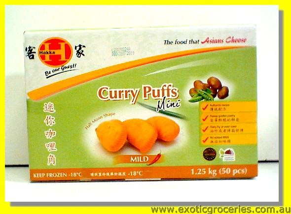 Mini Curry Puffs 50pcs (Half Moon Shape)