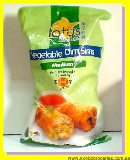 Vegetable Dim Sims