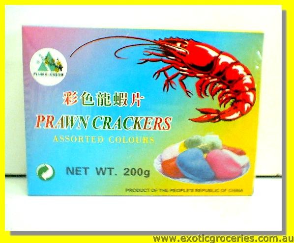 Prawn Crackers Assorted Colours
