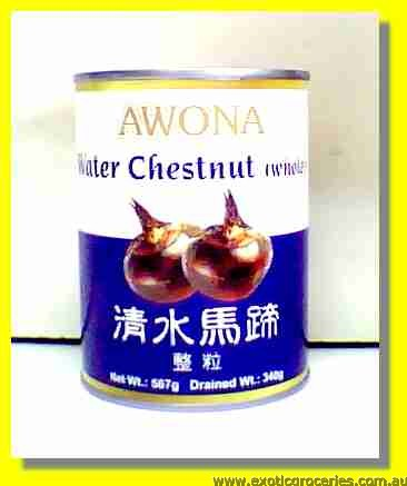 Water Chestnuts Whole