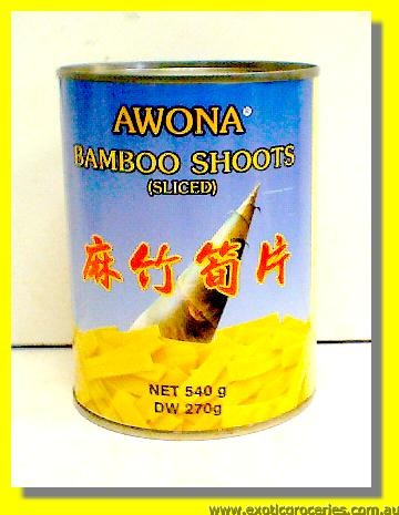 Bamboo Shoot Sliced
