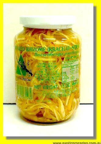 Pickled Rhizome (Krachai) Strips