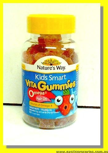 Vita Gummies with Omega 3 & Fish Oil