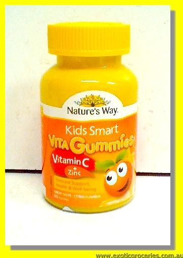 Kids Smart Vita Gummies with Vitamin C + Zinc