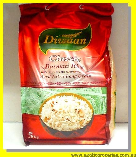 Aged Extra Long Grain Basmati Rice Classic