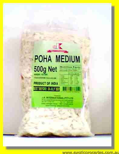Poha Medium Rice Flakes