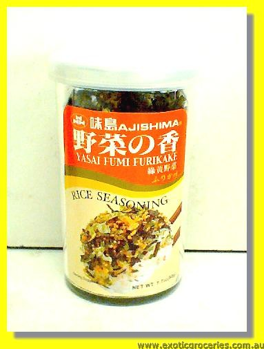 Yasai Fumi Furikake Rice Seasoning
