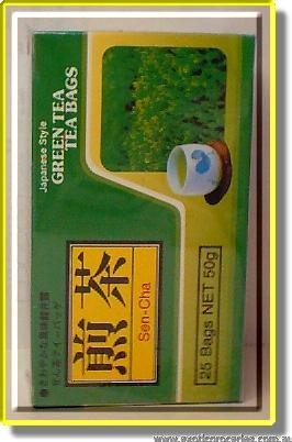 Japanese Style Green Tea Bags (Sen-Cha)