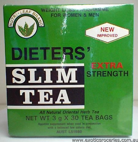 Dieters' Slim Tea Extra Strength