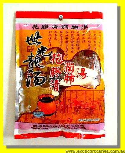 Dried Fish Maw Longan Soup Mix