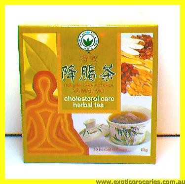 Cholesterol Care Herbal Tea 30tbgs