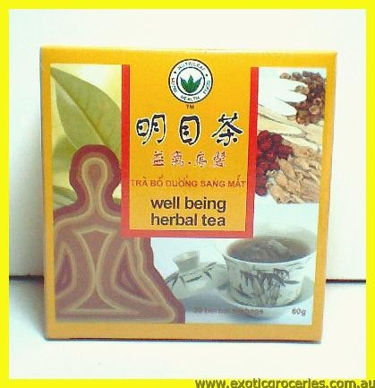 Well Being Herbal Tea 30tbgs