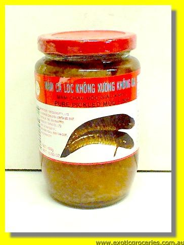 Pure Pickled Mud Fish Mam Ca Loc