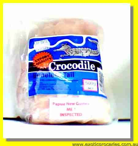 Frozen Crocodile Boneless Tail