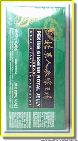 Peking Ginseng Royal Jelly3000