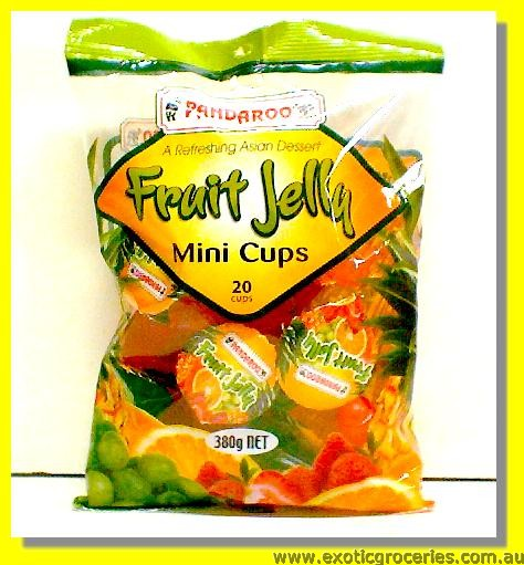 Fruit Jelly Mini Cups