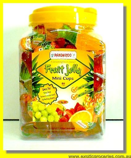 Fruit Jelly Mini Cup Assorted Fruit Flavour 80cups