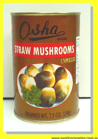 Straw Mushrooms (Unpeeled)